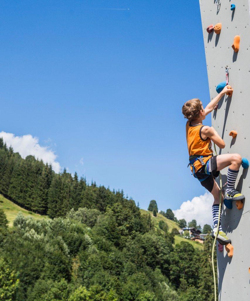 Klettern in Saalbach-Hinterglemm