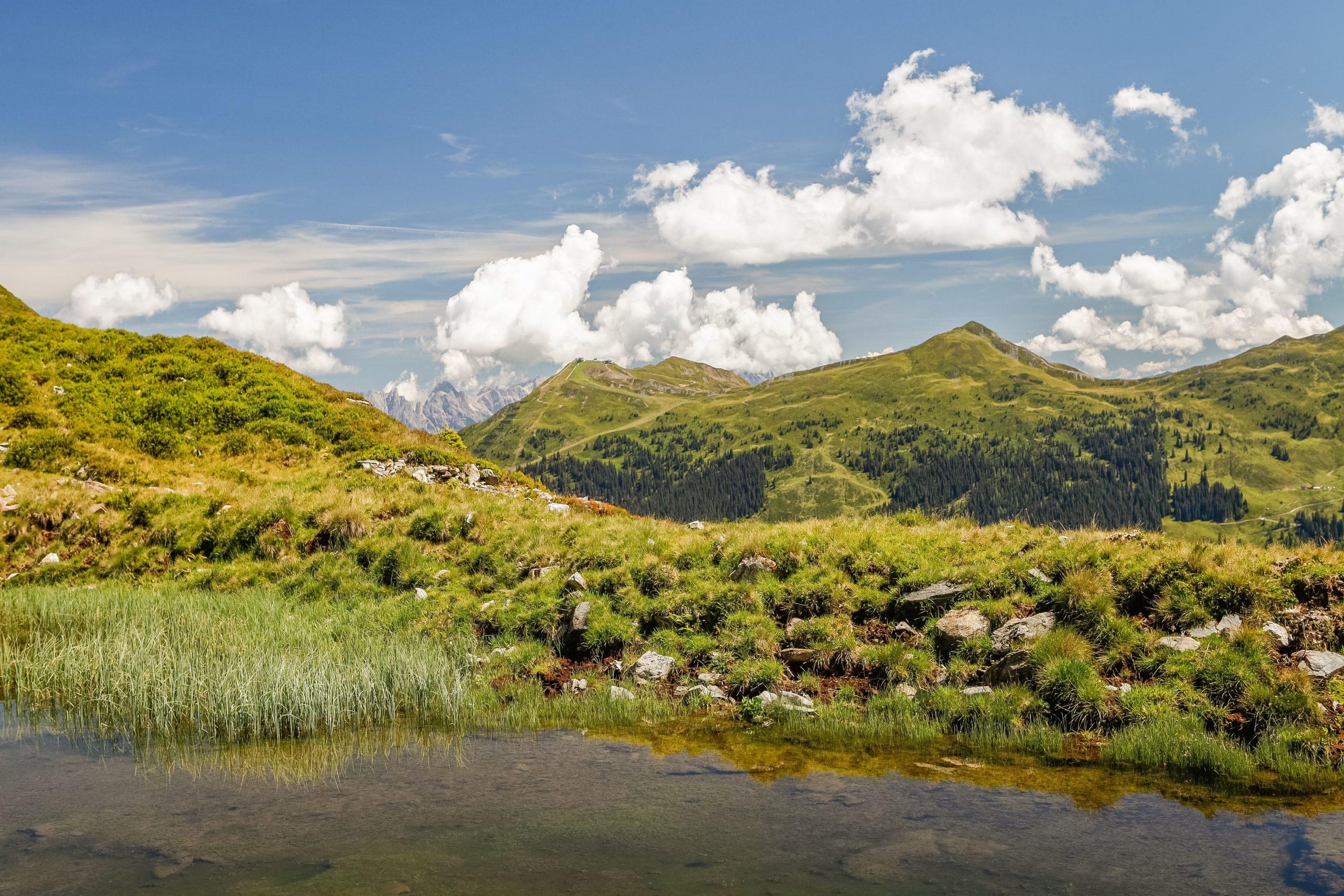 Wandern im Sommer im Salzburger Land