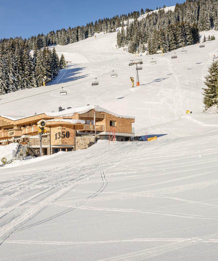 Alm für Skifahrer in Saalbach-Hinterglemm