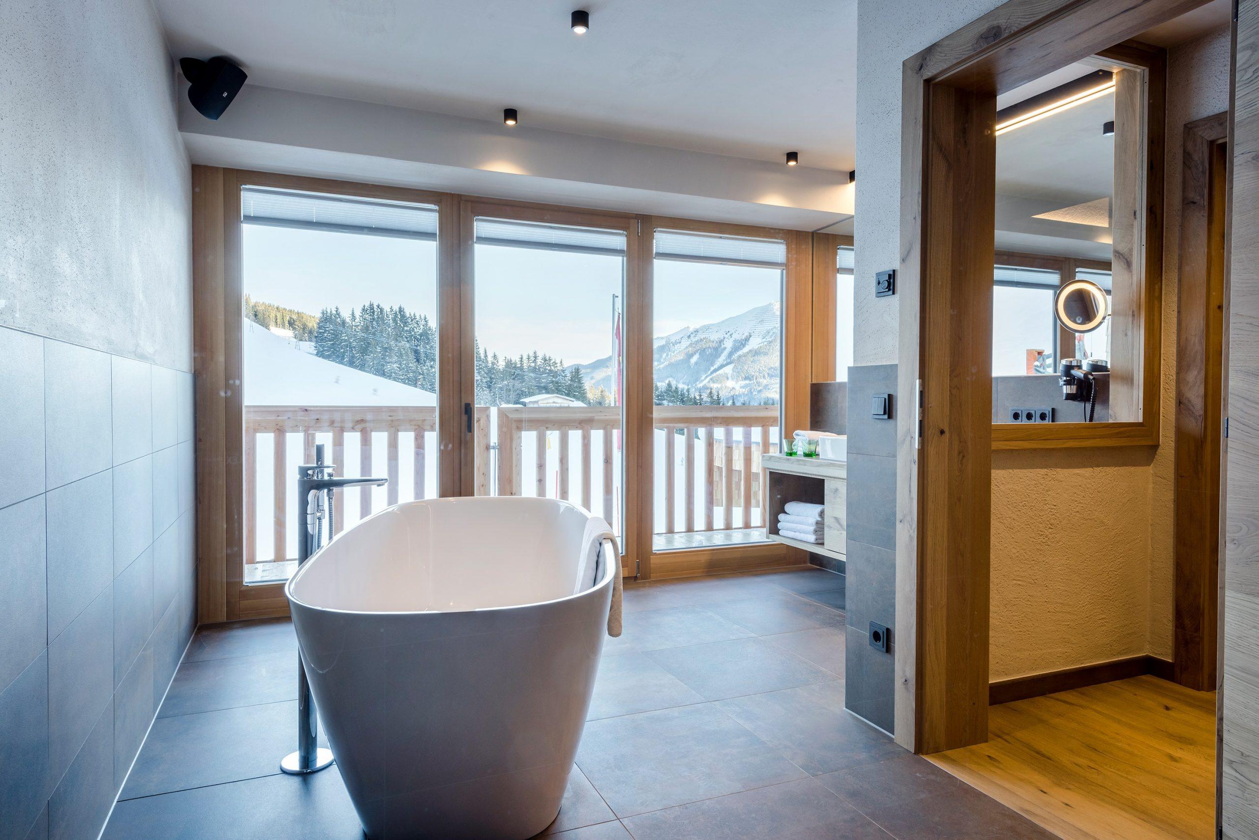 Appartement mit Badewanne