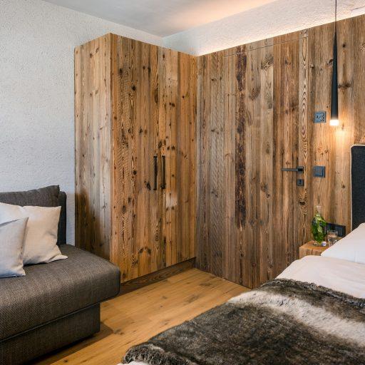 Ausziehcouch im Appartement in Saalbach-Hinterglemm