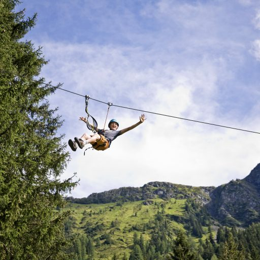 Flying Fox in Saalbach-Hinterglemm