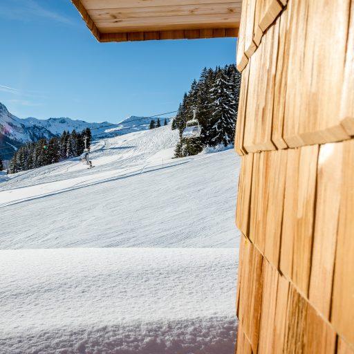 Schnee in Saalbach-Hinterglemm